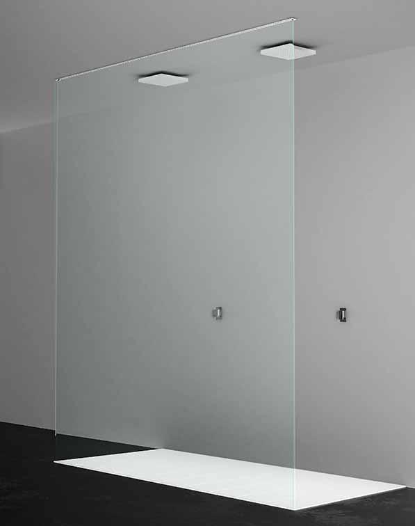 Box doccia pdp serie kubi maro ceramiche - Doccia a soffitto ...